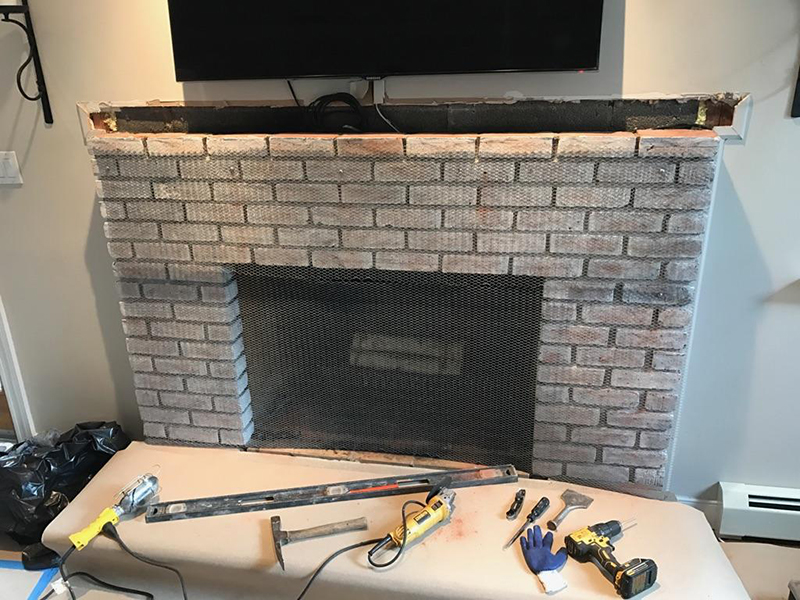 rebuild fireplace. Before Rebuilding Steps  Home The Chimney Medic